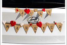 ערכת קישוט רכב wedding car decoration kit / ערכת קישוט רכב wedding car decoration kit