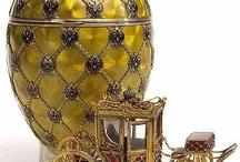 Fabergé eggs / famous eggs