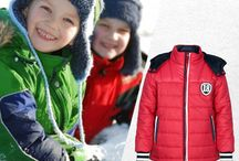 Kids Jackets / The collection for kids - winter wear is fairly extensive. It includes winter gloves, winter jackets, thermal wear & lots more.