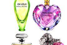 Perfume Bottle Illustrations
