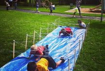 Obstacle Course - birthday party