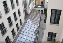 Ogród zimowy Hotel Golden Tulip Kraków / Realizacja ogrodu zimowego o powierzchni ponad 100m2 dla Hotelu Golden Tulip w Krakowie. Firma Przybylski (www.przybylski.net.pl)