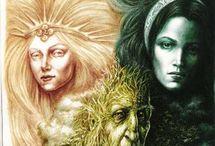 """Los Mil Nombres de """"Ella"""" / Diosas  y Arquetipos Universales.La Energia Femenina en todas las culturas y épocas."""
