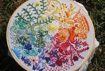 i <3 gorgeous embroidery  / <3 <3 <3 <3 <3