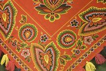 барановский платок