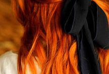 Hairstyles: Orange