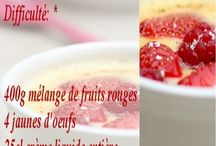 Gratins de fruits