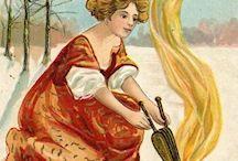 Clare Victor Dwiggins aka Dwigs -in progress / American cartoonist and card illustrator  1873 -1958