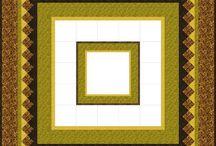 Médaillon sampler quilt