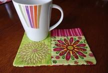mug rugs... / by Rob Johnson