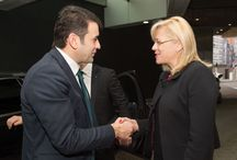 Întâlnirea comisarului european Corina Creţu cu premierul R. Moldova, Chiril Gaburici / (foto © European Union, 2015)