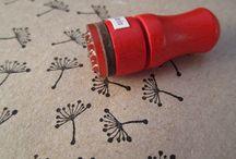 stamp - handmade