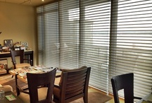 Window Shadings / Combines softness of drapes, function of shades, light control of blinds. Gently diffuses sunlight, preserves outside view, while providing privacy.