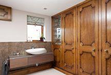 Venables Oak Project North Farm / Venables Oak wooden interior and exterior doors, oak portico