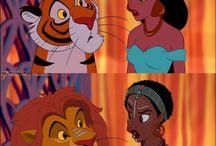 Desenhos da Disney como de outro pais