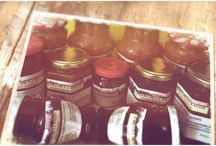 Homemade food: jams. / The jams made under Camara de la Racos brand.