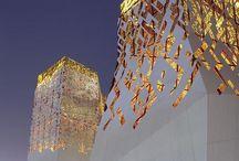 White-Gold facade