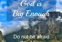 when god is big enough