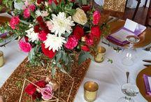 ARTFLOWER: Sparkles and florals