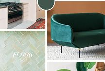 Interior Design Moodboard Design Advice / A collection of interior design inspo and moodboards of what I'm loving! Featuring homes from my own interior design as well as interior design projects showcasing Tiles of Ezra Moroccan zellige tiles.