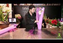 Empaque Buquet flores papel