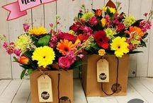 Our Floral Menu | BOUQUET BAGS