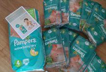 Kampania Pampers Acitve Baby-Dry