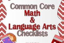 curriculum & checklists. / by Christy Bankieris