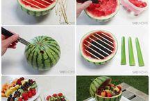 Creatief met eten voor een feestje