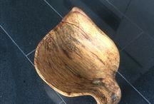 #wood #handmade #art #vase #fruit bowl