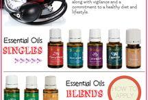 essential oils / by Gayle Schmitt