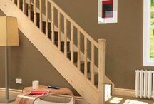 Stair Kits, Refurbishment Staircase Kits, Diy Stair Projects / Improve old tired staircase with one of our Stylish Staircase Refurbishment Stair Kits / Bundles. These kits are easy to purchase and help with choosing the right design to suit your house design.