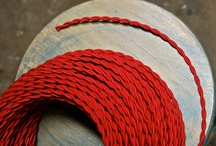 Vintage Style Cloth Covered Electrical Wire