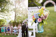 Spring Weddings / April showers bring May flowers and Weddings!