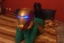 Iron Man -Helmet / How to make Iron man helmet ranging from simple one to complex with led light and retractable face lift