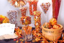 Fabulously Fall Candy Buffet