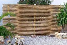 Terrazze: pareti, paravento, privacy