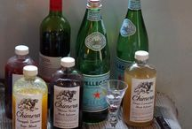 Summertime Shrubs / Chimera drinking vinegars at a summer party.
