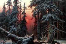 Пейзажи-природа