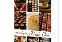High tea uitnodigingen / Gezellig kletsen met de meiden onder het genot van een kop thee en lekkere zoetigheden! Nodig je vriendinnen uit voor een high tea. Deze kaarten zijn van Kaart op Maat.