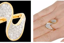 Fifth avenue collection rings / Sterling silver or stainless steal finished in a rich rhodium or 24ct gold.