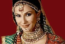 Indian bridal jewelry / Lets see the beauty of Indian brides all decked up with heavy jewelry.