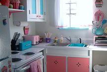 My dream kitchen / pretty kitchen supplies and deco ideas