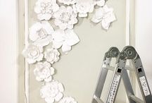 Big flowers (The Paper Heart) / My big paper flowers - soon will show you more :)