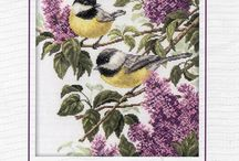 Birds cross stitch patterns