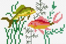 ANIMAL 7-FISHER*CROSS STITCH-EMBROIDERY