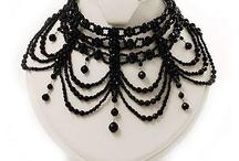 Beaded gothic jewelry