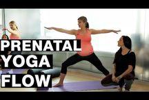 Prenatal yoga videos