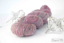 My Handspun yarns