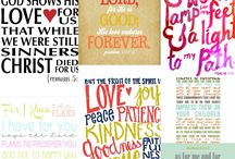 Scripture prints / by Danielle Shoemaker